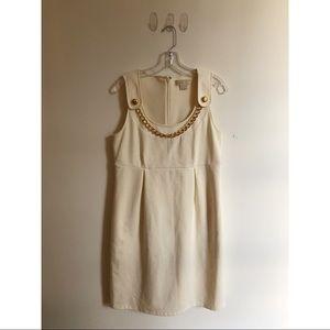 Michael Kors Cream Jumper Dress